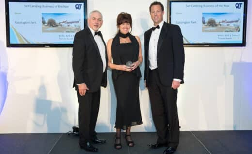 Another Award for Somerset's Luxury Cossington Park
